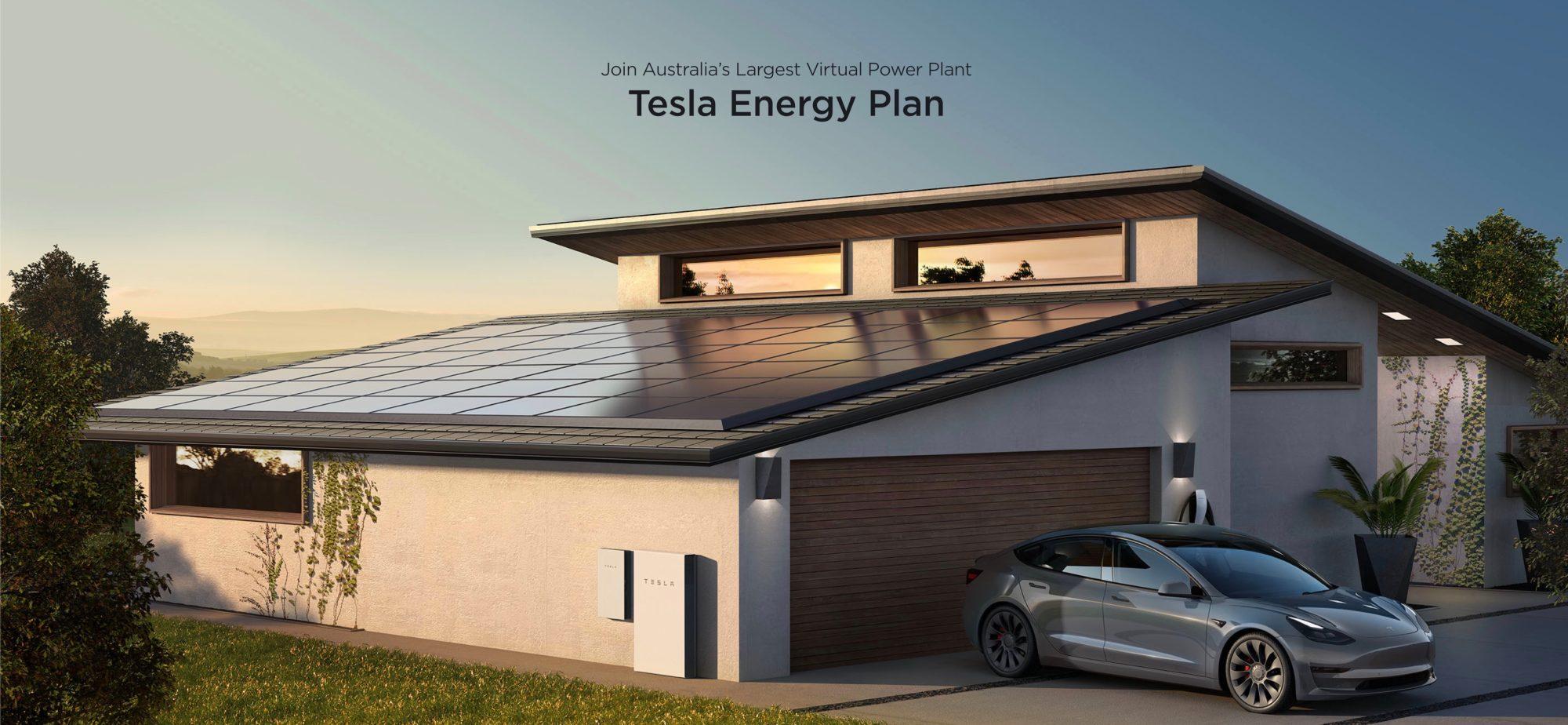 Tesla Energy Plan.