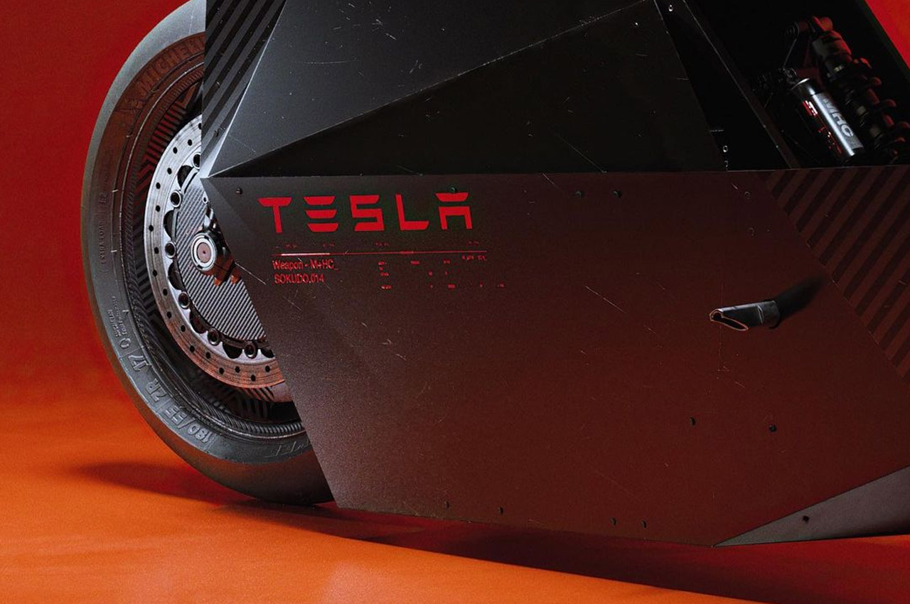 Tesla electric bike's
