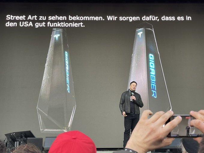 Tesla Giga Bier