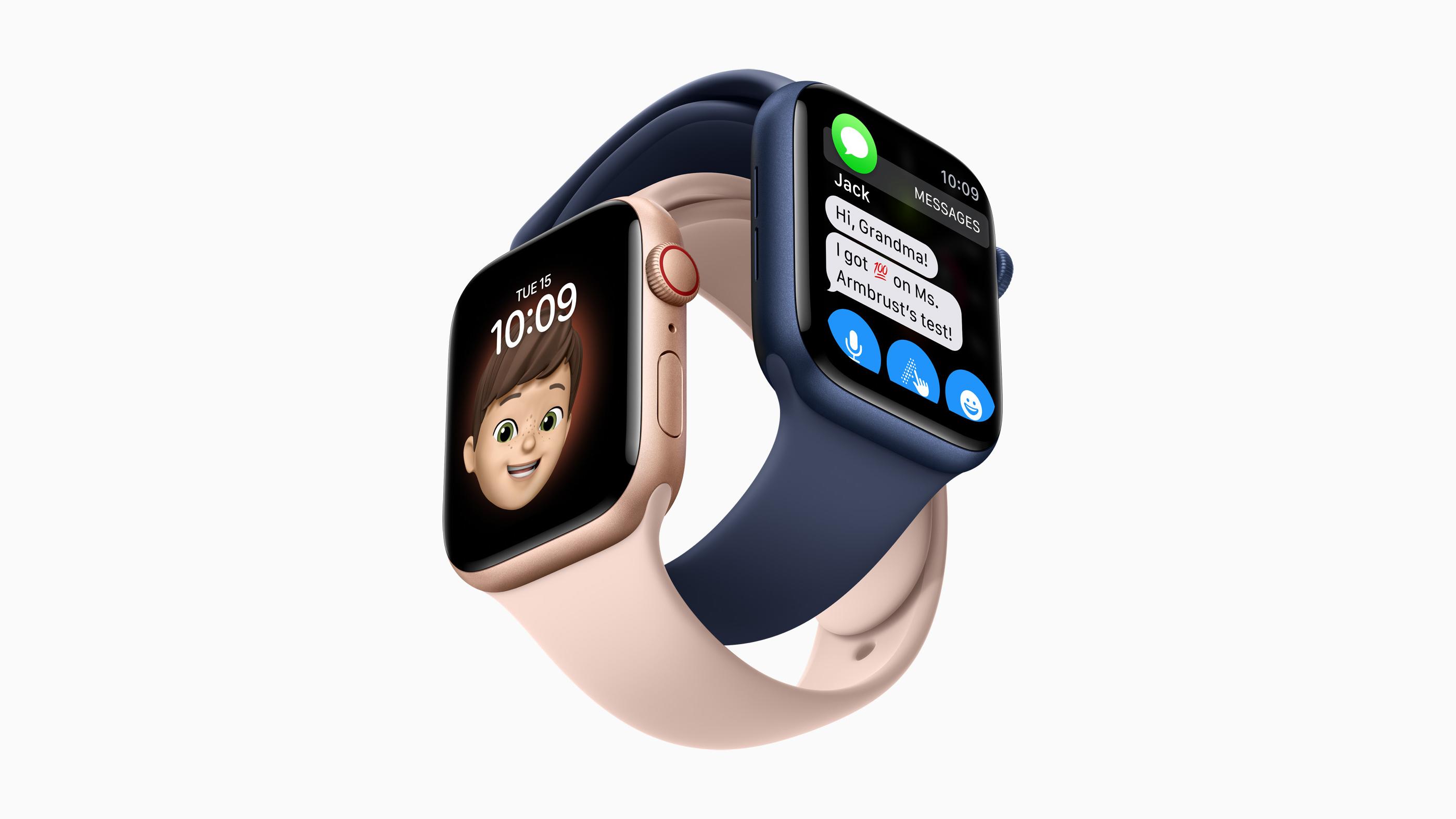 Apple Watch Series 7 Facebook