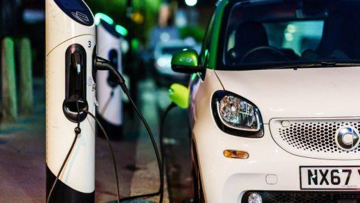 Brighton electric cars amid petrol crisis
