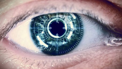 Scientists have created electronic contact lenses with wireless charging