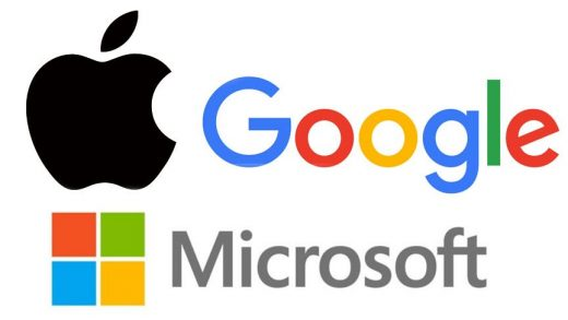 Microsoft Google Apple