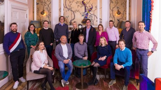 The partners of European venture capital firm Atomico.