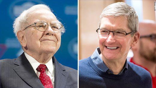 Warren Buffett calls Apple