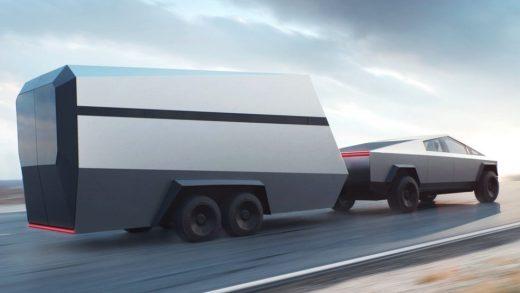 Tesla's Cybertruck Trailer