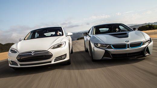 Tesla BMW Blockchain