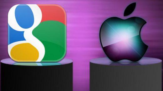 Apple and Google