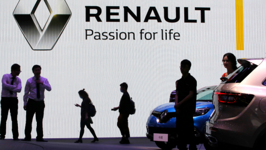 Renault China electronic