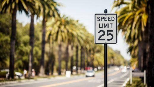 Driving speeds USA