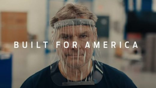 """Ford """"Built for America"""" ad."""