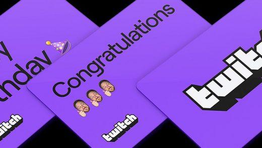 Twitch cards