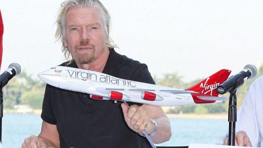 Sir Richard Branson Virgin Atlantic