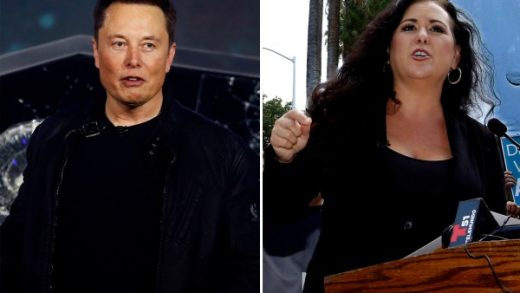 A compilation of California State assembly member Lorena Gonzalez and Tesla CEO Elon Musk