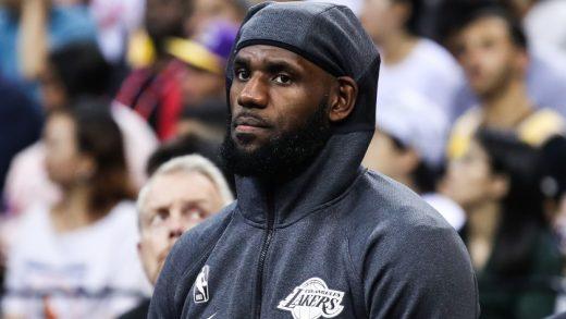 LeBron James Gets