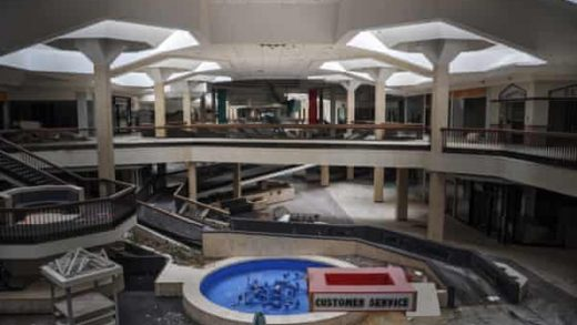The demise of America's malls can deal a blow to the towns that depend on them