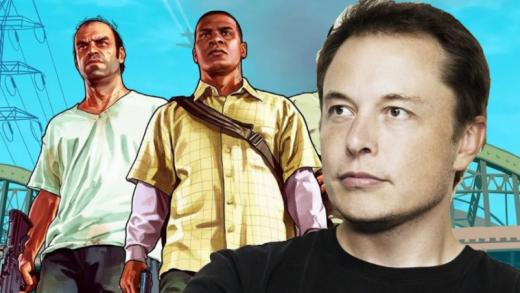 Elon Musk GTA5