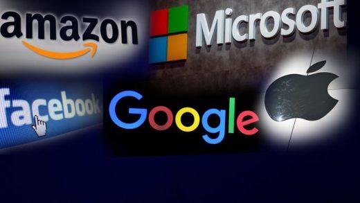 Amazon Apple Facebook Microsoft