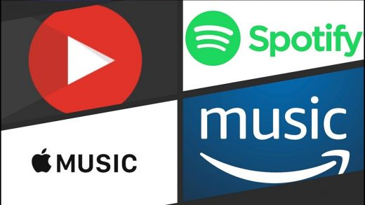 Spotify Apple Music YouTube Amazon