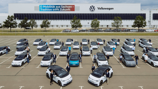 VW testing first ID.3 electric cars with 150 employees