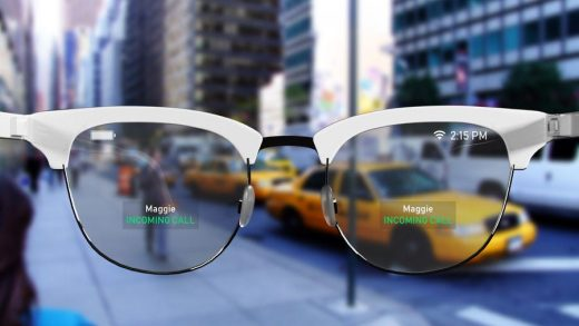 A concept speculating what Apple AR glasses could look like (not associated with Apple)