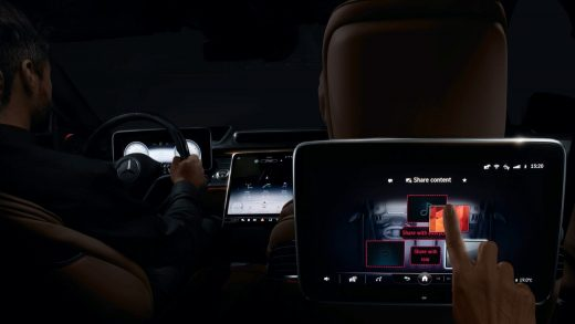 Mercedes-Benz S-Class user experience. Mercedes-Benz