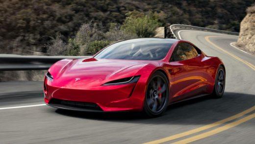Tesla Roadster's