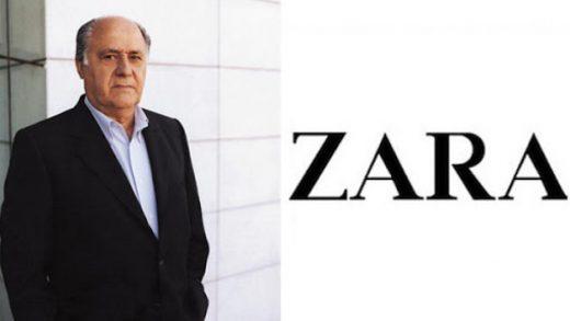 Zara Founder Unveils Amancio Ortega