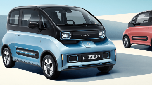 Baojun sells electric cars in China for under $10,000