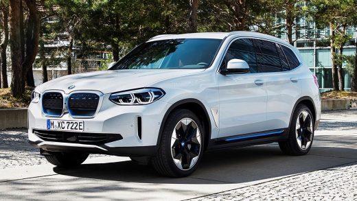 BMW iX3 electric European China
