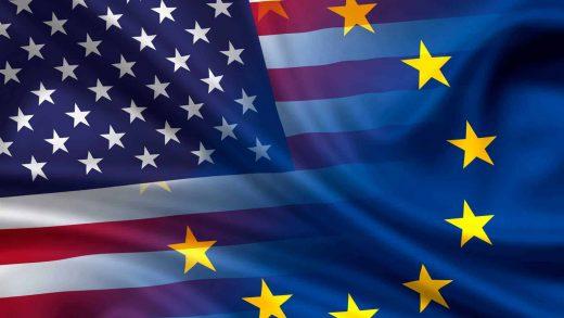 Europe's U.S USA American economy Covid-19 pandemic