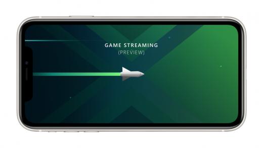 xCloud on iOS.