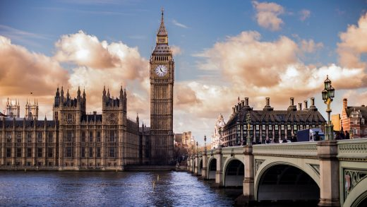 British Covid-19 pandemic London