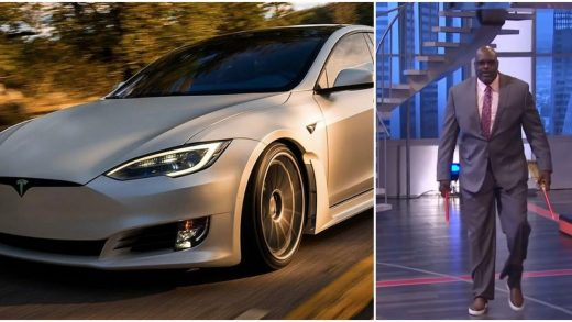 Tesla Model S proves not to be 'Shaq-friendly'