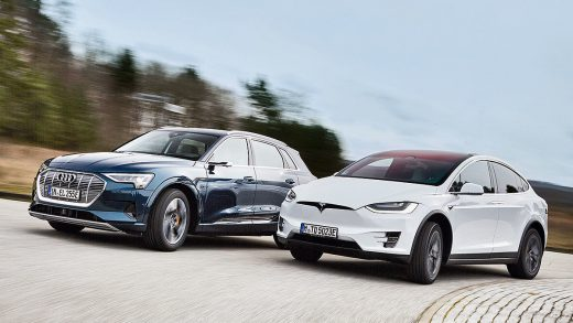 Tesla Model Y Vs 2021 Audi E-Tron