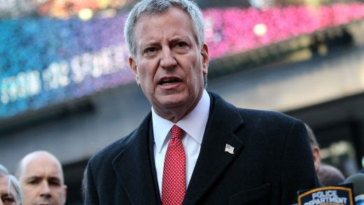 Bill de Blasio Brooklyn Queens New York