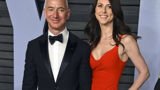 Jeff Bezos Amazon Prime Day MacKenzie Bezos