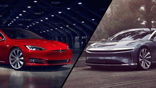 Tesla Model S Lucid Motors