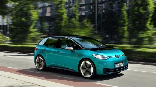 The ID.3 electric hatch. Source: Volkswagen