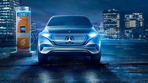 Mercedes-Benz electric cars