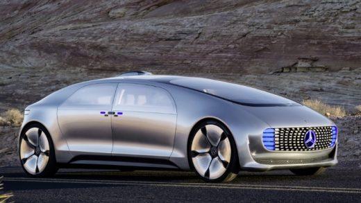 The Mercedes-Benz F-015