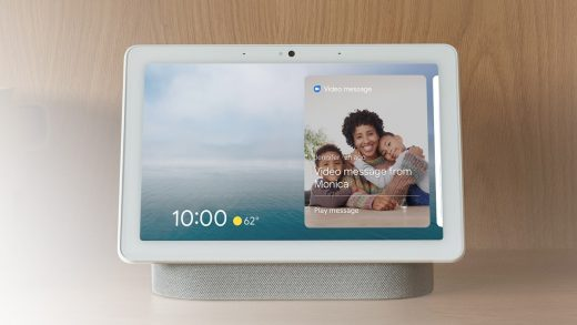 The new Google Assistant smart display interface GIF: Google