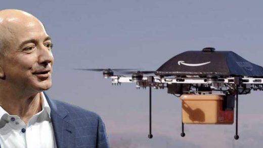 Jeff Bezos drone