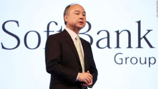 SoftBank CEO Masayoshi Son Yoshio Tsunoda/AFLO/Reuters