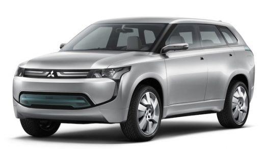 Mitsubishi PX-MiEV Concept.