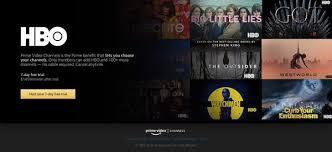 HBO Amazon