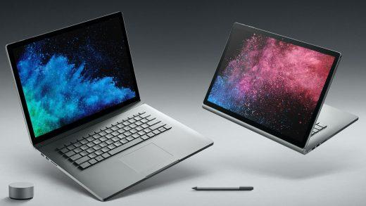 Microsoft Surface notebooks