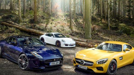 Mercedes, Jaguar, and Porsche 2020