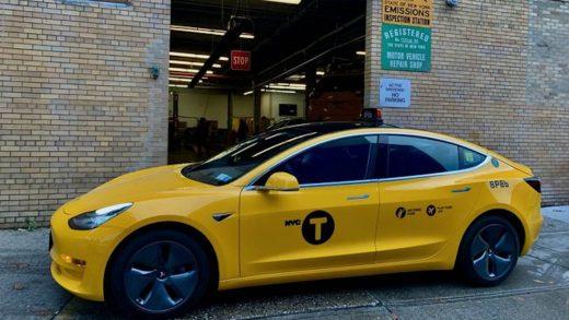 Tesla Model 3 New York