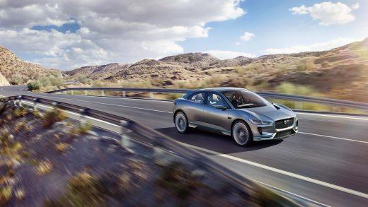 Jaguar J-Pace Tesla Model X